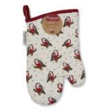 Christmas Red Robin Single Oven Glove