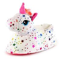 Kids Star Unicorn Slippers