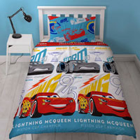 Official Disney Cars Lightning Duvet Set