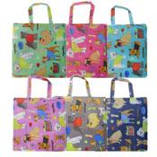 Mixed Dog Designs Reusable Shopping Bag Assorted