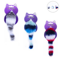 Multi Coloured Cat Toy With Rattle