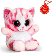 Animotsu Pink Cat Cuddly Soft Toy