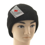 Adult Black Hat With 3M Thinsulate Lining