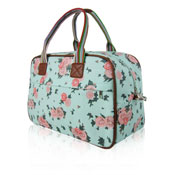 Blossom Flower Weekend Bag Turquoise
