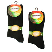 Flexi-Top Non Elastic Diabetic Socks Plain