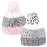 Kids Unisex Knitted Bobble Hat