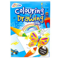 A4 60 Sheet Colouring And Drawing Book