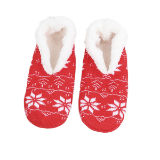 Xmas Slipper Socks Snowflake