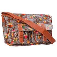 Owl Design Satchel Bag