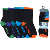 Boys Week Day Socks 5 Pack