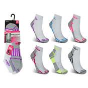 Ladies Low Cut Cushion Trainer Socks