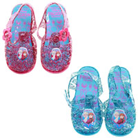 Childrens Official Frozen Jelly Sandals