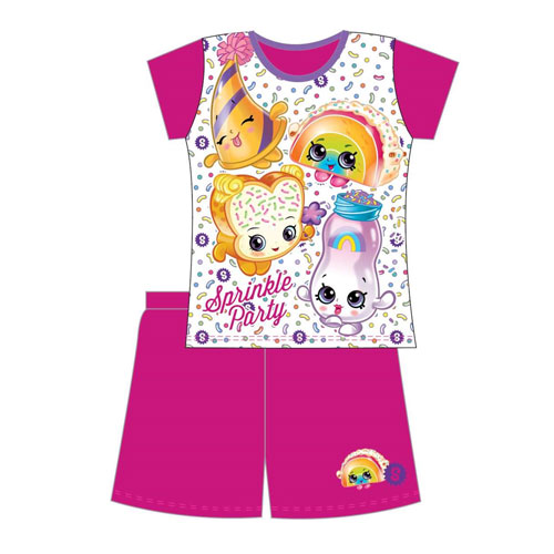 Girls Shopkins Shortie Pyjamas