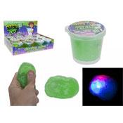 Flashing Light Slime In Tub