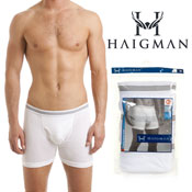 Haigman 3 pack Luxury Combed Cotton Boxers