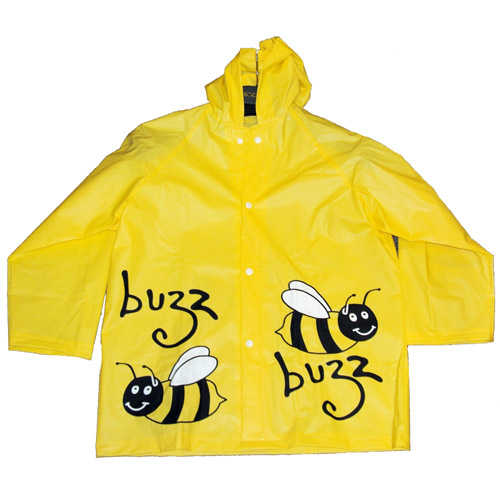 Childrens Novelty Raincoats Bumble Bee