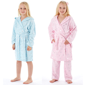 Girls Stars Dressing Gown Robes