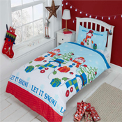 Childrens Christmas Bedding - Let It Snow