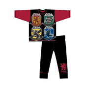 Boys Harry Potter Hogwarts Houses Pyjamas