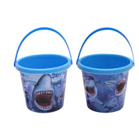 Shark Print Bucket