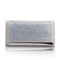 Kalee Glitter Purse Grey