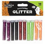 Halloween Glitter Tubes 10 Pack