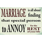 Marriage Message Plaque