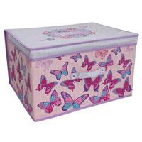 Butterfly Design Jumbo Storage Chest