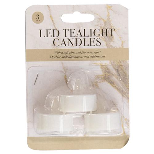 LED Flickering Tealights