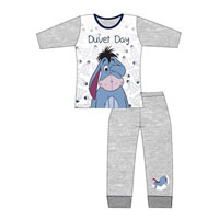 Official Older Girls Eeyore Pyjama Set