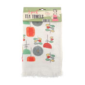 Utensils Fringed Tea Towels 3 Pack
