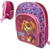 Official Paw Patrol Deluxe Glitter Front Pocket Backpack