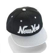 New York Snapback Baseball Caps White Peak