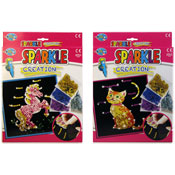 Create Your Own Sparkle Creation Cat & Pony