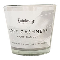 Soft Cashmere V Cup Candle