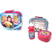 Official Disney Princess Lunch Bag Set 3 Piece