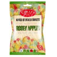 Rosey Apples Crillys Sweets 130g Bag