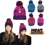 Ladies Self Coloured Twisted Yarn Hat Cosy Lining