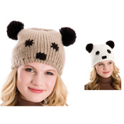 Animal Hats with Panda Faces