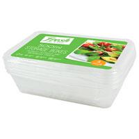 Food Storage Boxes 500ml 4 Pack