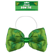 St Patrick's Day Irish Shamrock Design Bow Tie