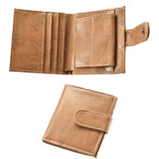 Mens PU Wallet With Coin Pocket
