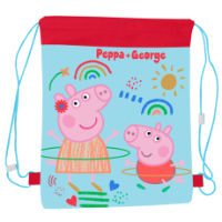 Official Pull String Bag Peppa Pig