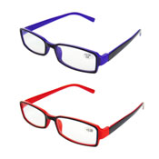 Reading Glasses With Colour Plastic Frame