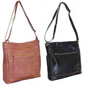 Ladies Zip Crossbody Handbag