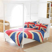 Union Jack Duvet Set Double