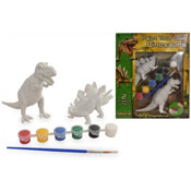 Paint Your Own Dinosaurs Set