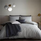 Pom Pom Grey Luxury Duvet Set