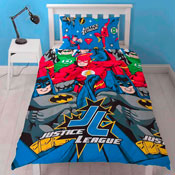 Justice League Inception Reversible Duvet Single
