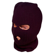 Adult 3 Hole Balaclava